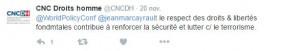 tweet CNCDH
