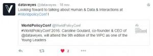 tweet dataveyes