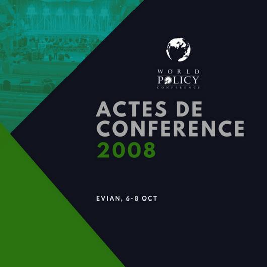 Actes de conférence 2008