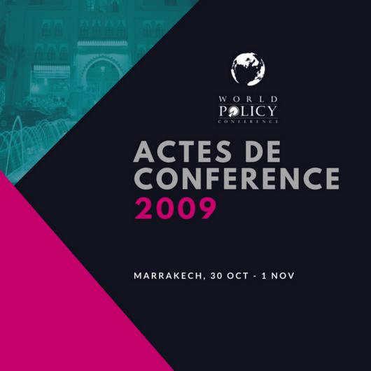 Actes de conférence 2009