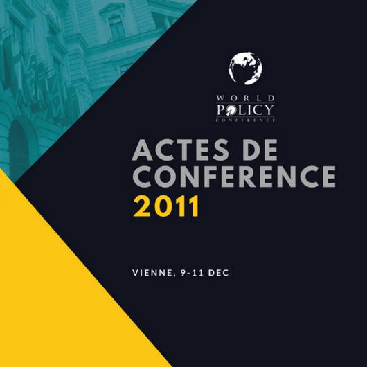 Actes de conférence 2011
