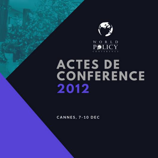 Actes de conférence 2012