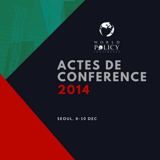 Actes de conférence 2014