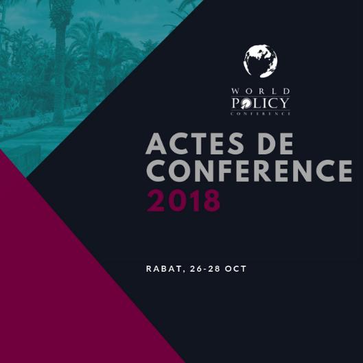 Actes de conférence 2018