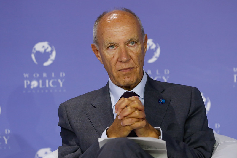 WPC 2018, Rabat, October 28 - Francis Gurry, Director General of the World Intellectual Property Organization (WIPO). Credit: World Policy Conference